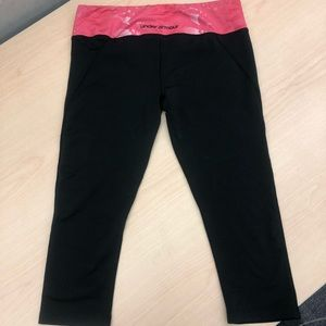 Under Amour Workout Leggings, Size Small